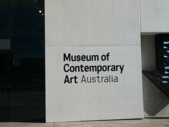 Museum of Contemporary Art: Front Enterance