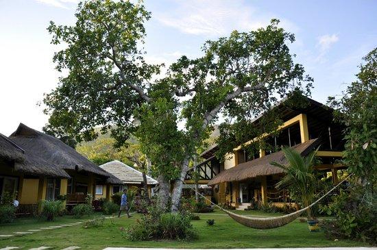 La Natura Resort : Restaurant and reception area
