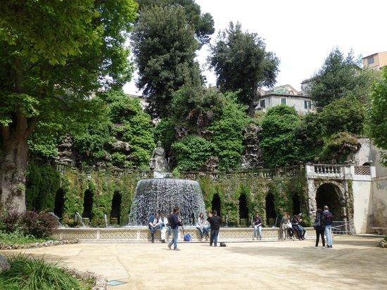 Villa d'Este : jardines