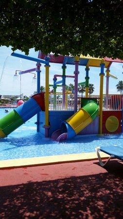 Club MAC Alcudia: Hydro park kids pool. It's great here