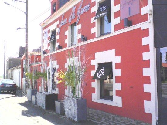 Restaurant Jean D'la Queue : la façade