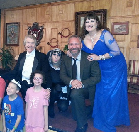 Sleuths Mystery Dinner Shows: My kids loved the show too, such a fun time!