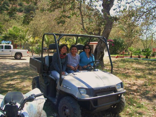 Baja Fun Adventures: have young kids ..ride in the polaris