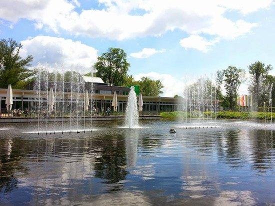 Die Garten Tulln: Fountain