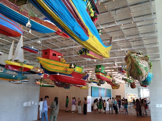 Perez Art Museum Miami: The entrance