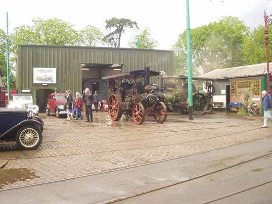 """East Anglia Transport Museum: Traction Engine, """"Made in Suffolk"""""""