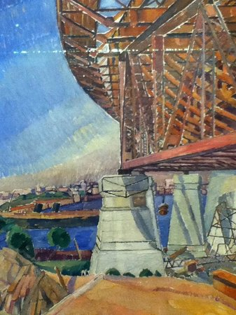 Galerie d'art de Nouvelle-Galles du Sud : Painting of the Harbour Bridge