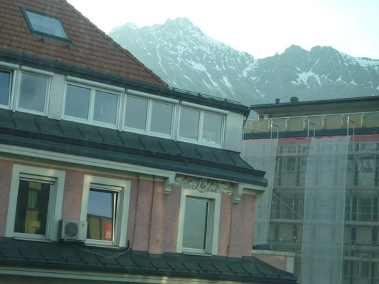 Ibis Innsbruck: View from my room!