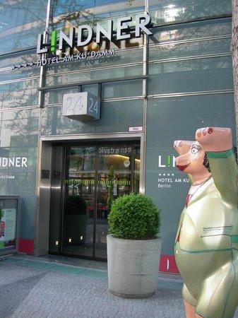 Lindner Hotel Am Ku'damm: ingresso hotel