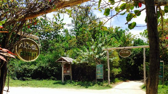 Ak'bol Yoga Retreat & Eco-Resort : Entrance