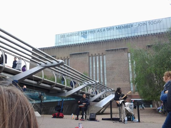 Millennium Bridge : Millenium e Tate