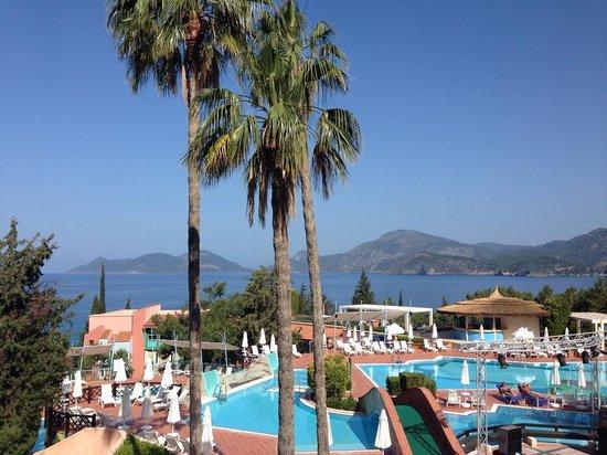 SENTIDO Lykia Resort & Spa: View from Breakfast Room