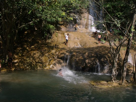 Sai Yok National Park : a beautiful waterfall