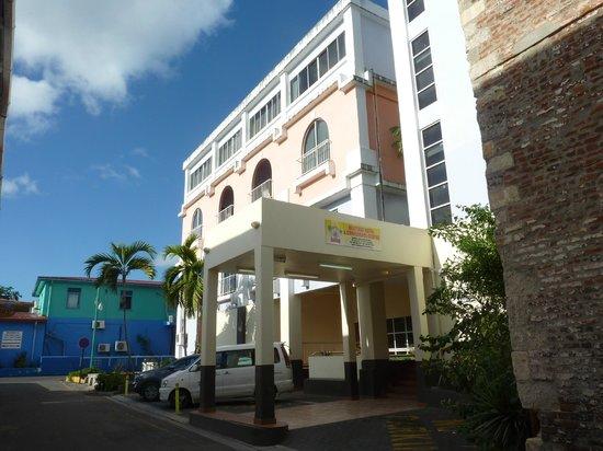 Heritage Hotel : ingresso