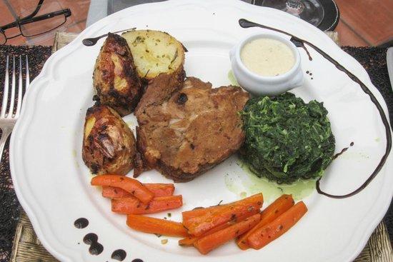La Maison d'Hocquincourt : Dinner