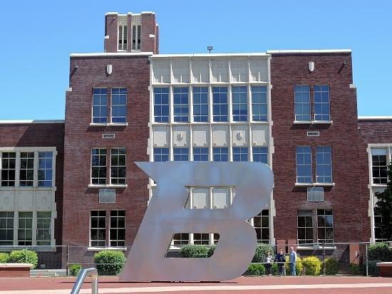 Boise State University : Administration Bldg., B.S.U.