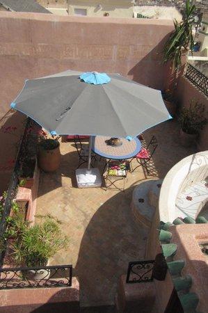 Riad Tara Hotel & Spa : terrazza