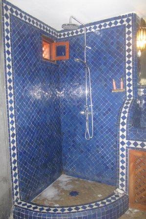 Riad Tara Hotel & Spa : doccia
