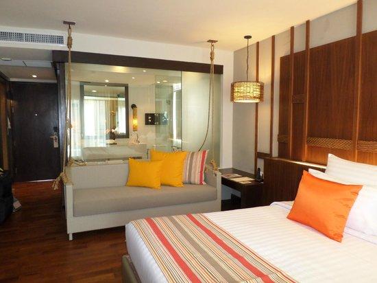 The Rock Hua Hin Resort: our room ... modern & spacious