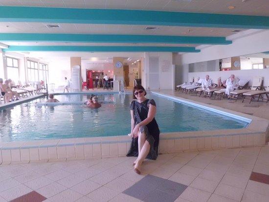 Lot Spa Hotel: спа. Бассейн с горячей морской водой