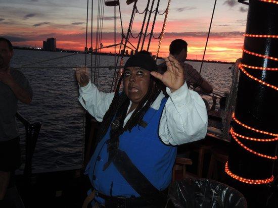 Hotel Riu Yucatan: captain hook trip