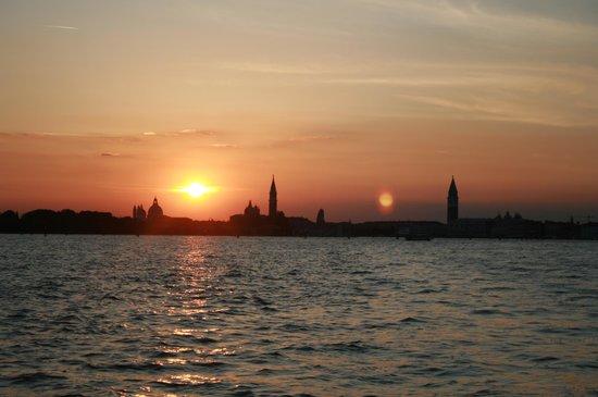 Hotel Sorriso: sunset