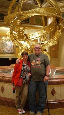 The Venetian Las Vegas: Main  reception  area
