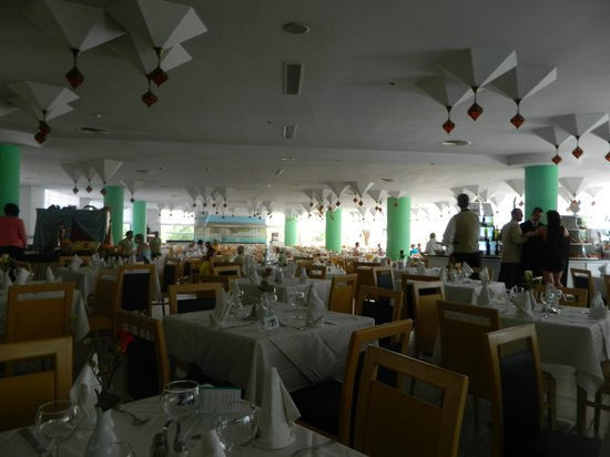 SENTIDO Phenicia: All inclusive dining area, nice atmosphere, clean tidy, lovely food, fab waiters