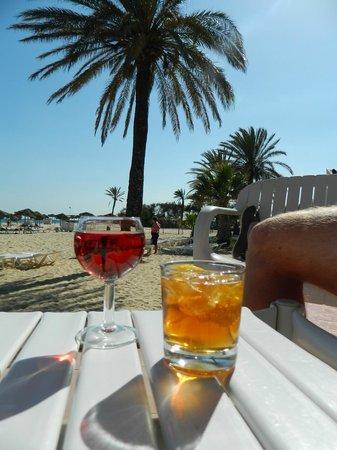SENTIDO Phenicia: Beach bar - lovely