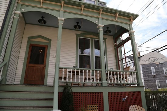Centerboard Inn: The front porch