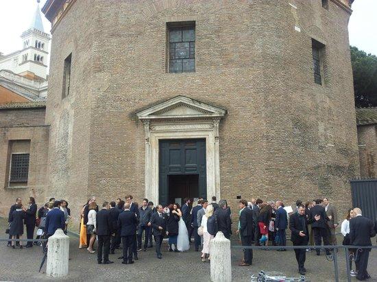 Battistero Lateranense: Exterior of Baptistry