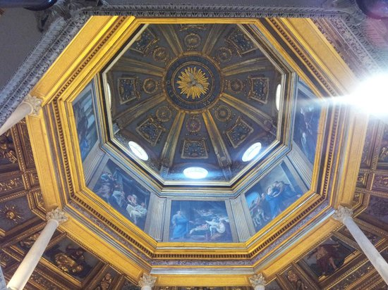 Battistero Lateranense : Cupola of Baptistry