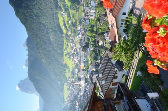 Apartments Marmolada : view from the balcony