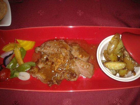 La Forge: Pluma de porc ibérique sauce échallottes et grenailles
