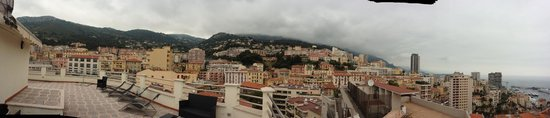 Beausoleil, Prancis: View from rooftop