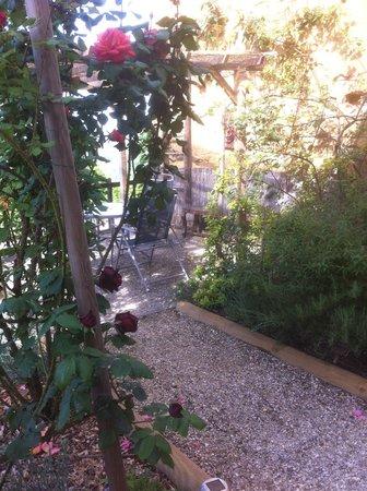 La Trancoulette : Terrasse...
