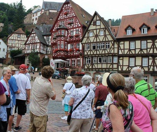 Haus zum Riesen: Alter Markt, Miltenberg, Germany, July 2013