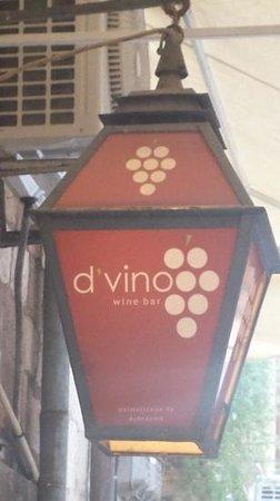 D'vino Wine Bar : great winebar...
