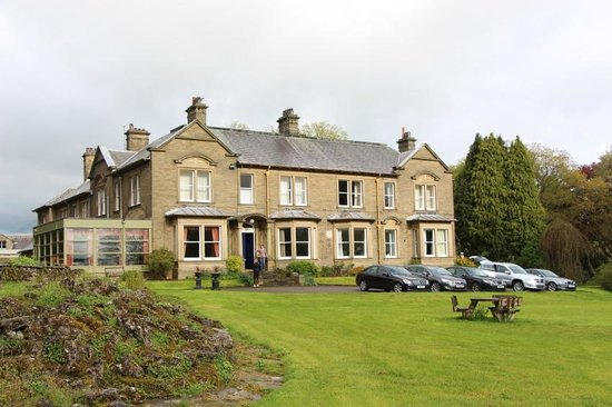 Thornton Lodge: view from front