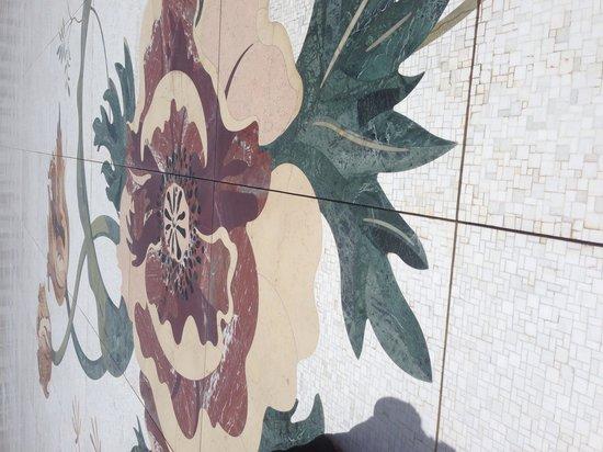 Mosquée Cheikh Zayed : Marble floor