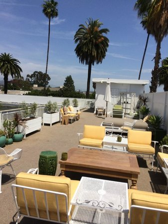 Hotel Beverly Terrace : The hotel roof deck