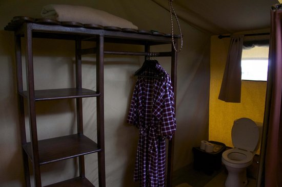 Dunia Camp, Asilia Africa: Closet in tent.