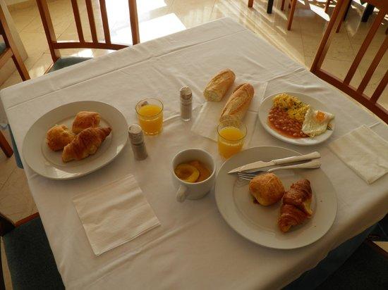 Hotel Algarb: colazione