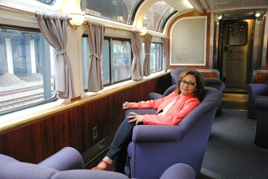 Coast Starlight: Parlour Car