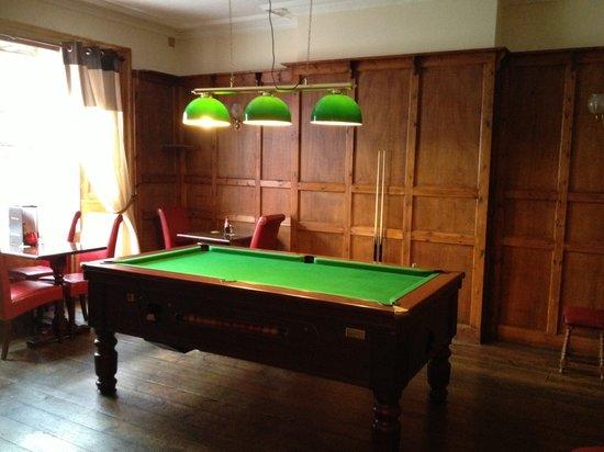 The Globe Hotel: Pool Room