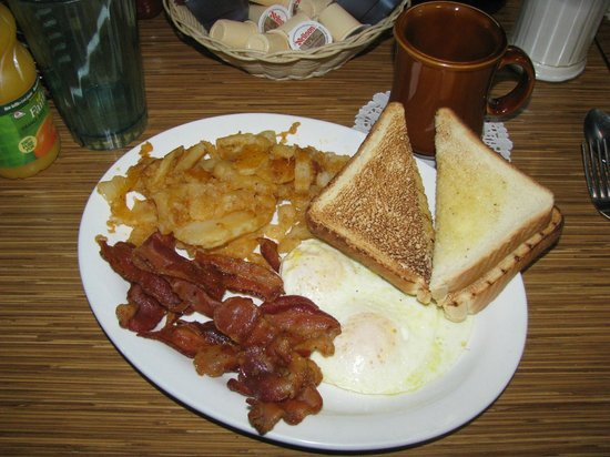 Country Boy Family Restaurant Delicious Bacon Eggs Breakfast