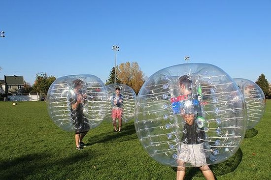 ลาวาล, แคนาดา: Bubble Football Montreal | Sumo Soccer