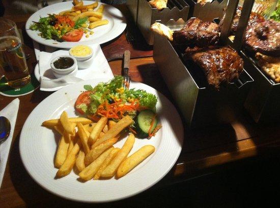 Restaurant Grill & Steakhouse Santa Maria Argentijns: Carne