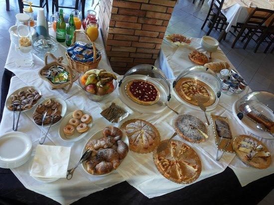 Park Hotel Cilento: il buffet della colazione
