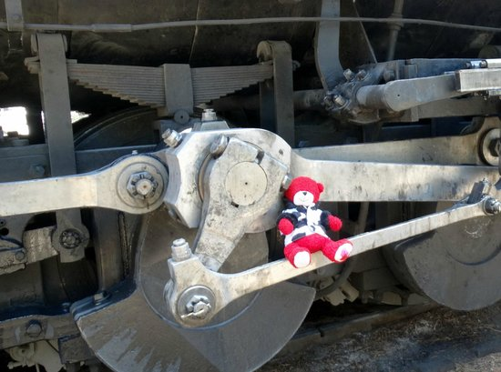 Durango and Silverton Narrow Gauge Railroad and Museum: Little Patty riding the rails